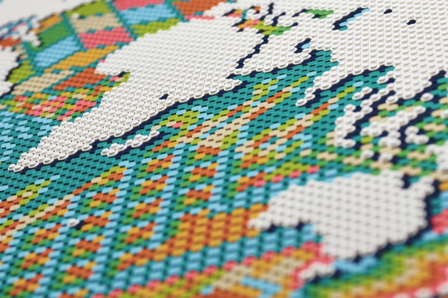 Набор Lego с картой мира