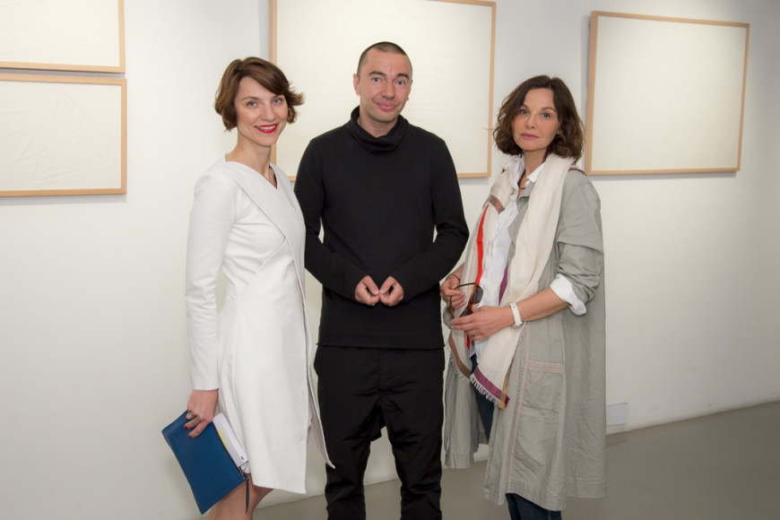 Катрин Борисов (RuArts), автор проекта, фотограф Михаил Розанов, Татьяна Друбич (актриса)