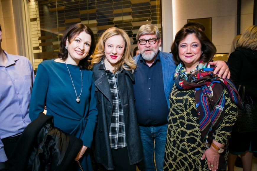 Ирина Степанова, Александра Вертинская, Константин и Елена Ремчуковы