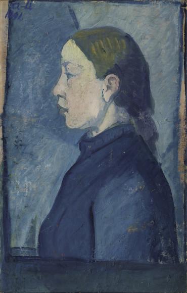Ivan Aguéli, Flickporträtt, 1891