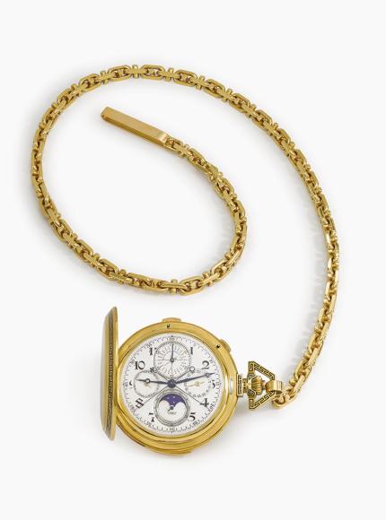 Карманные часы Chrysler's, Audemars Piguet. Эстимейт 100–200 тысяч швейцарских франков, проданы за 181,3 тысячи швейцарских франков