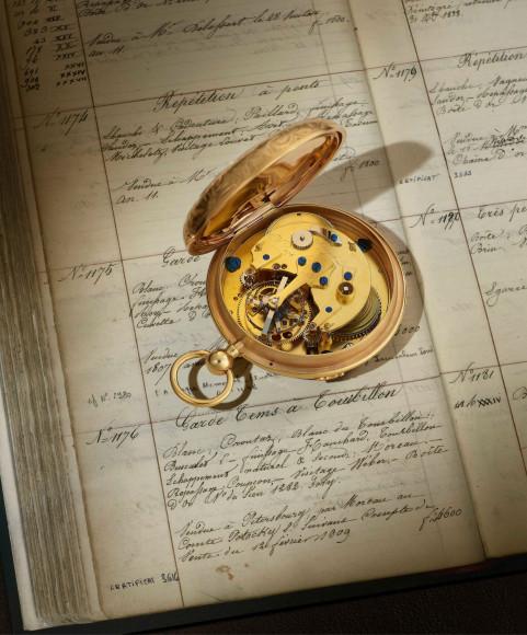 Карманные часы с турбийоном 1176, Breguet, 1802-1809 годы (в открытом виде)