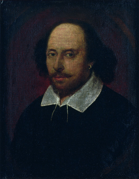 Джон Тейлор (приписывается). «Уильям Шекспир». Около 1610 г.