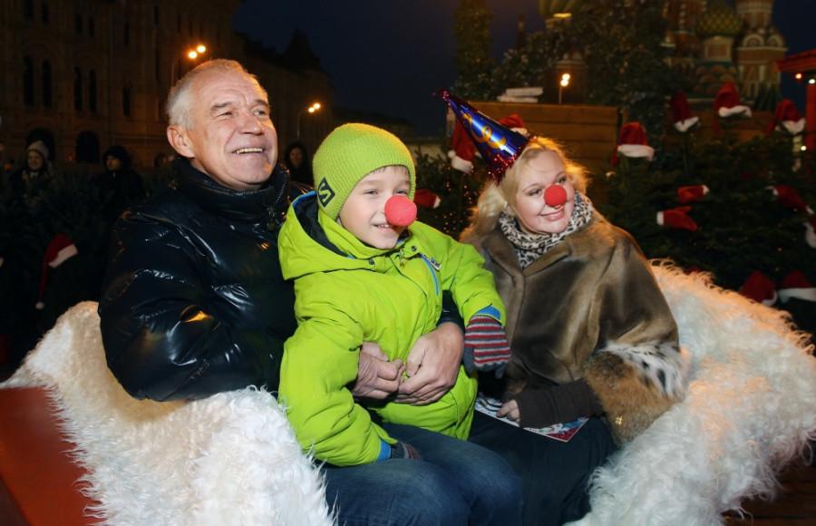 Сергей Гармаш с семьей