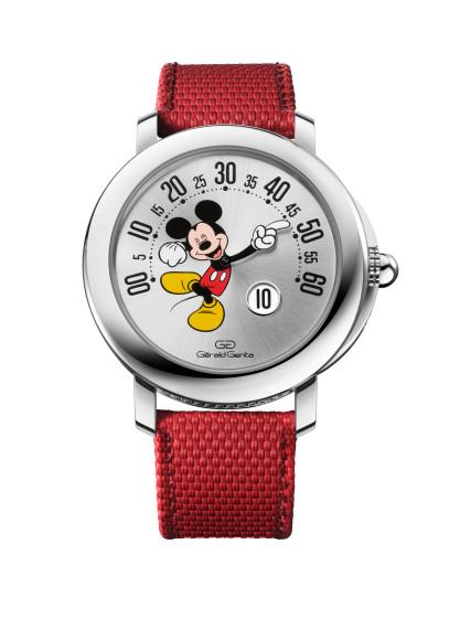 ЧасыArena Retrograde Mickey Mouse Disney,Gérald Genta