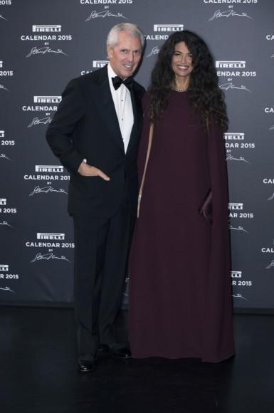 Marco Tronchetti Provera,  Afef Jnifen
