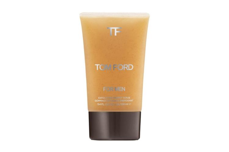 Мужской скраб для лица For Men Exfolianting Energy Scrub, Tom Ford содержит измельченные косточки абрикосов. Средство подходит для нормальной и жирной кожи.