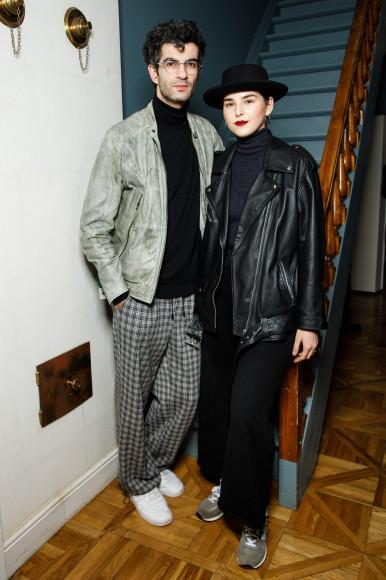 Амбарцум Кабанян и Анна Бибичадзе