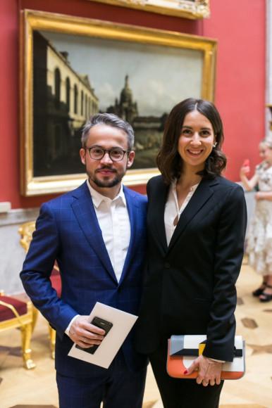 Андрей Белоусенко и Вероника Демидова