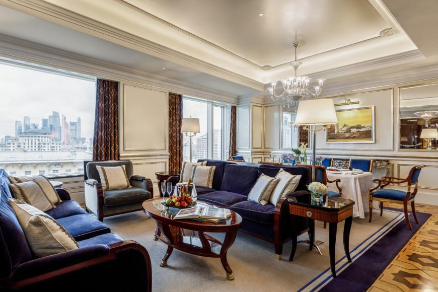 Гостиная в Президентском люксе