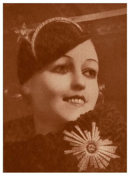 Фото с презентации коллекции Bijoux de Diamants, 1932 год