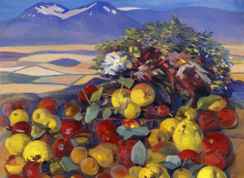 Мартирос Сарьян. Осенний натюрморт. Плоды созрели, 1961