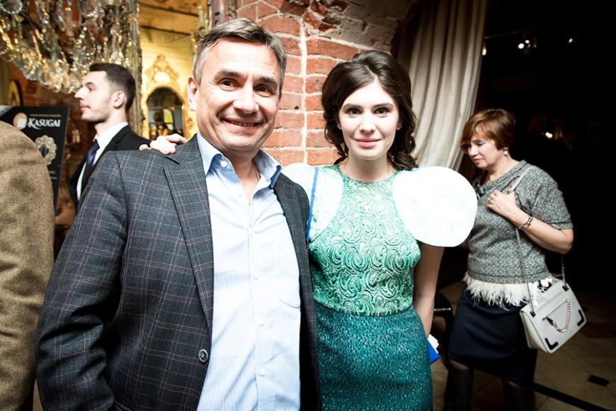 Генеральной Директор Lamborghini Сергей Мордовин и основатель проекта ART SECRET Виктория Бейлис