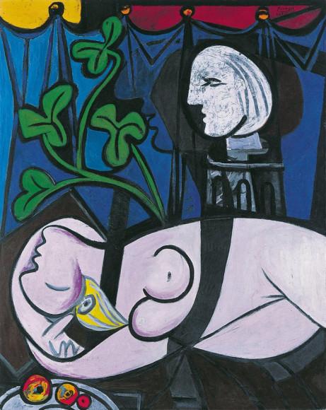Пабло Пикассо. Nude in a Black Armchair (Nu au fauteuil noir). 1932