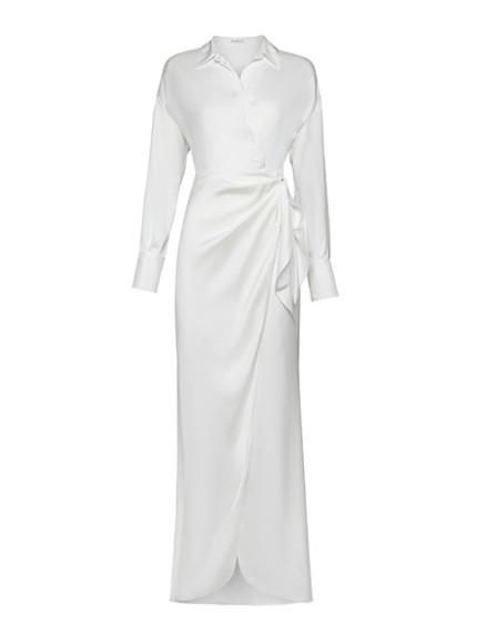 Платье Brunello Cucinelli, 344 300 руб. (shop.brunellocucinelli.com)