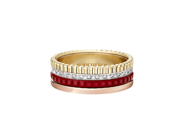 Кольцо Quatre Red Edition, Boucheron, 433 000 руб. (Boucheron)