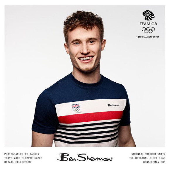 Форма Ben Sherman для сборной Великобритании