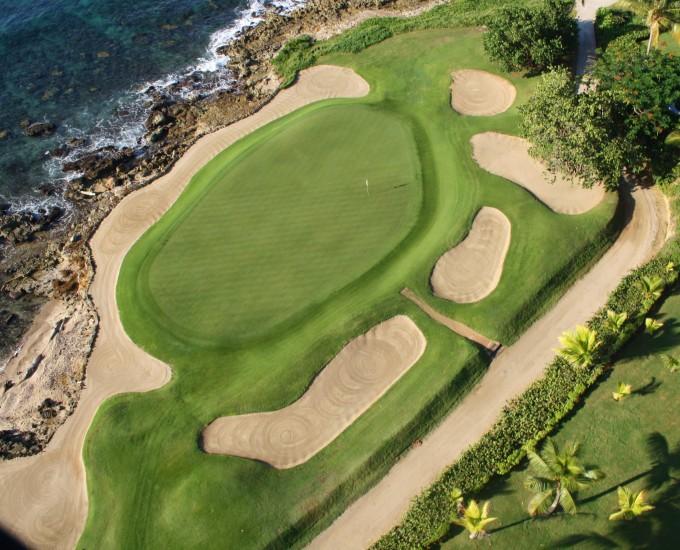 Поле для гольфа, отельКаса-де-Кампо