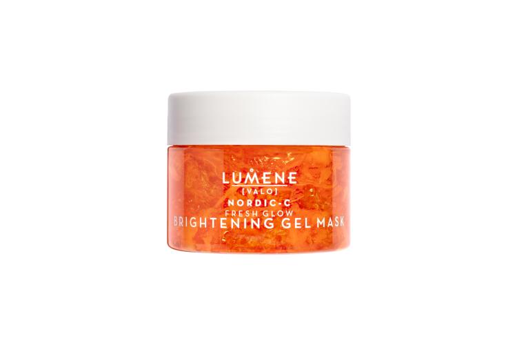 Маска, придающая сияние коже лица, с натуральными AHA-кислотами Nordic-C [Valo] Fresh Glow Brightening Gel Mask, Lumene