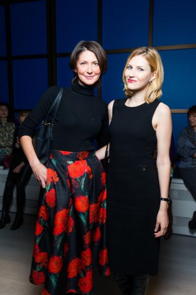 Анастасия Орехова с подругой