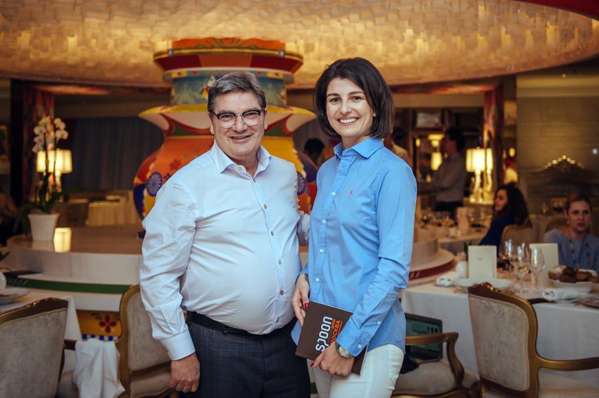 Нино Грациано и Ольга Карпова