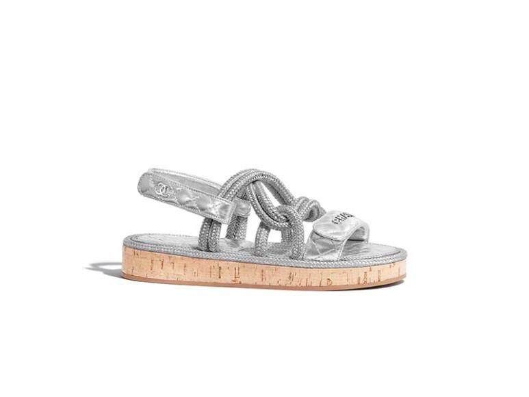 Женские сандалии Chanel, 81 100 руб. (Chanel)
