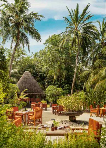 Ресторан Botanica на курорте на курорте One&Only Reethi Rah (Мальдивы)
