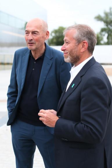 Архитектор Рэм Колхас и бизнесмен Роман Абрамович