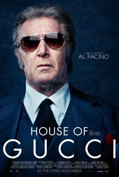 Аль Пачино в образе Альдо Гуччи