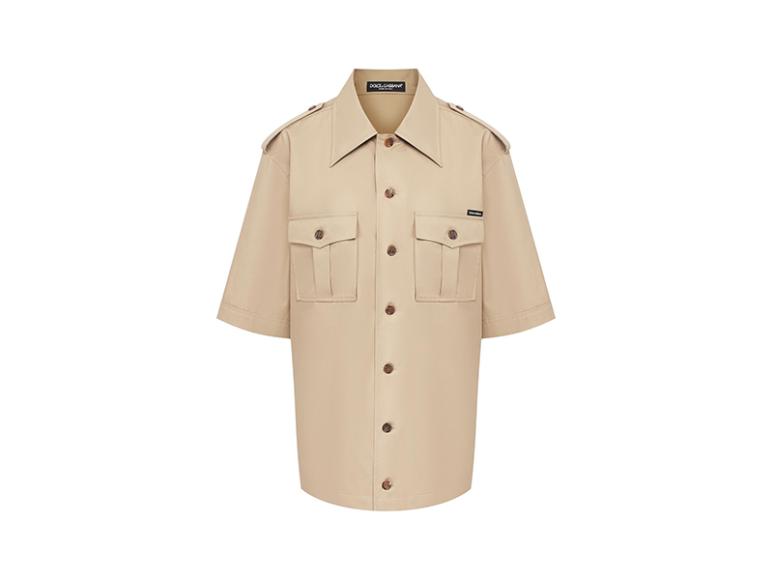 Женская рубашка Dolce & Gabbana, 56 750 руб. (tsum.ru)