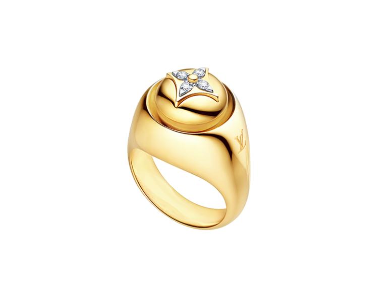 Кольцо-печатка B.Blossom, Louis Vuitton