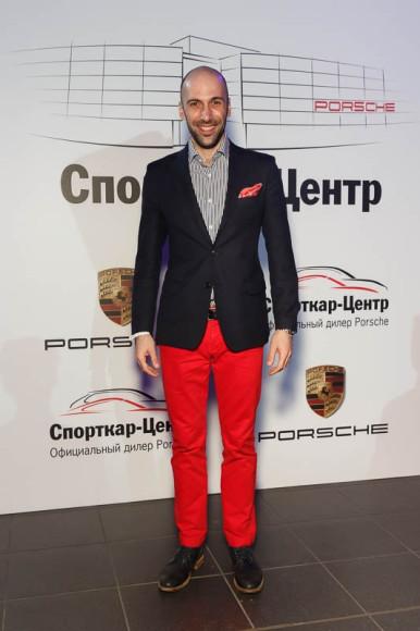 Евгений Папунаишвили, танцор