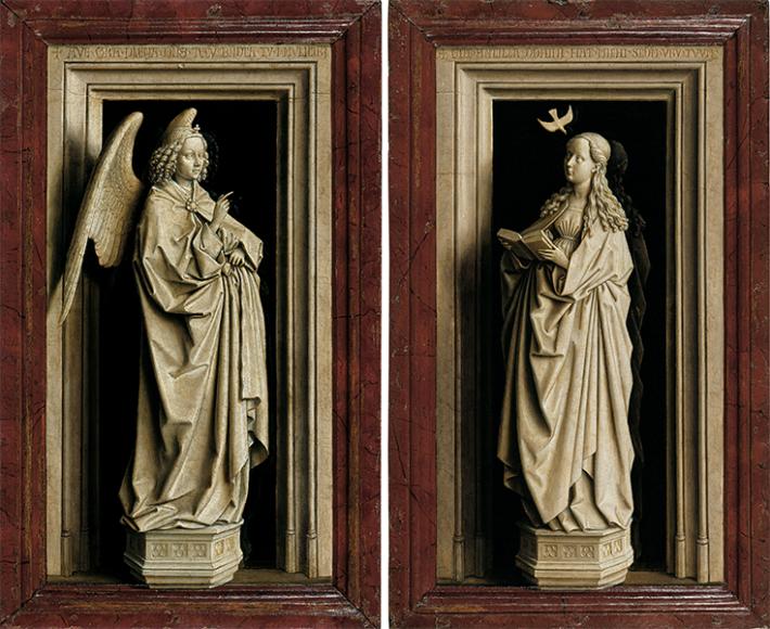 Ян ван Эйк, Благовещенский диптих, ок. 1433–1435