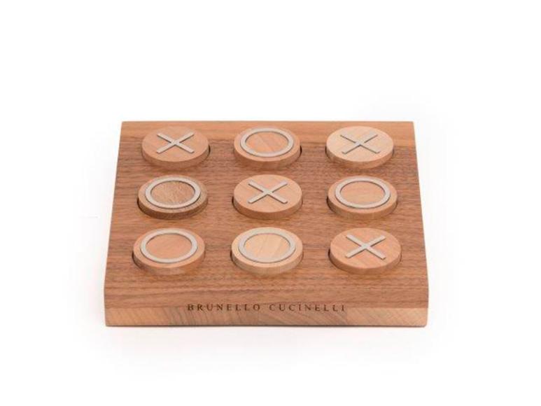 Настольная игра крестики-нолики, Brunello Cucinelli, цена по запросу (галереи «Времена года»)