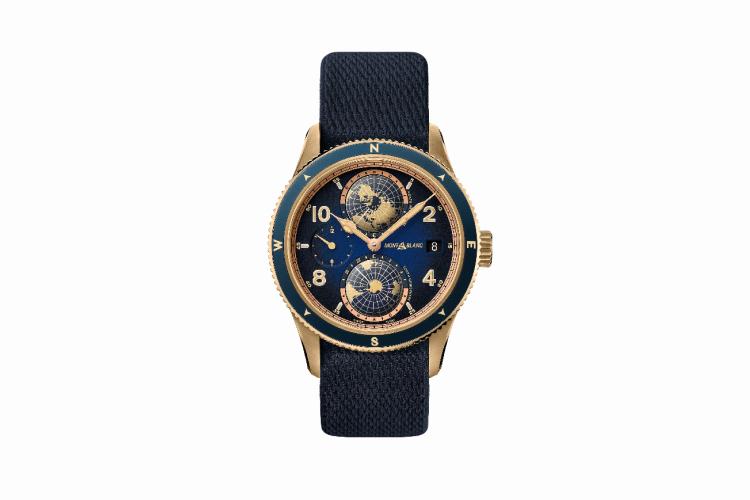 Часы Montblanc 1858 Geosphere Messner Limited Edition, Montblanc