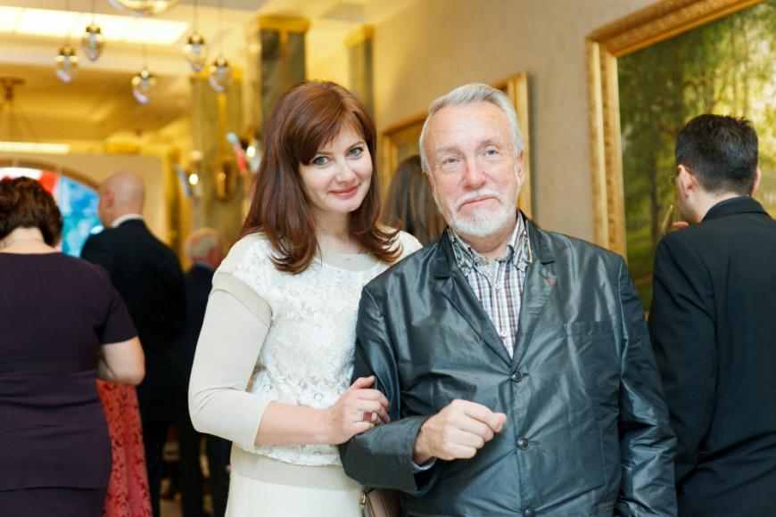 Владимир Гусев (Директор Русского Музея) с супругой