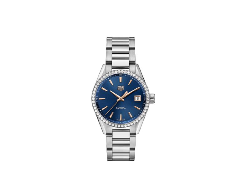 Часы Carrera Lady, TAG Heuer, 245 тыс. руб. (TAG Heuer)