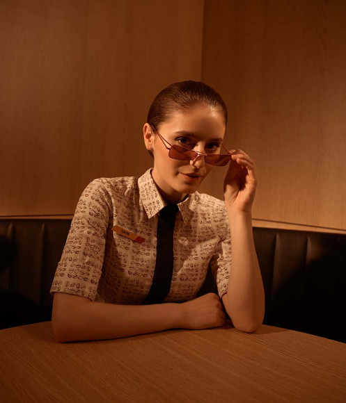 Форма сотрудников «Макдоналдс» от бренда Victoria Andreyanova