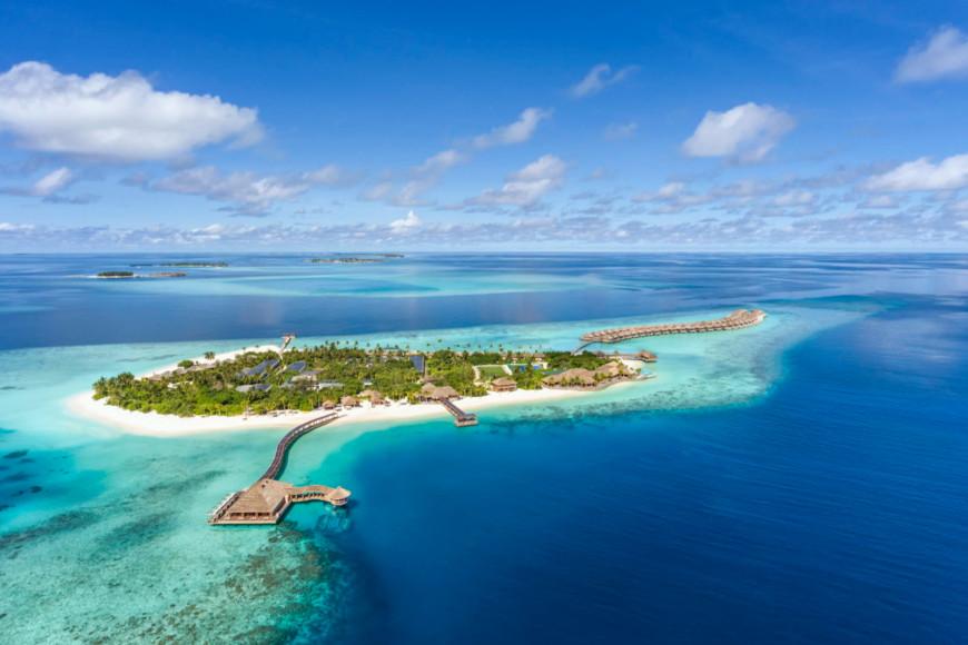 Панорамный вид Hurawalhi Maldives