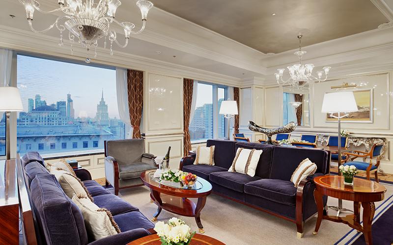 Отель Lotte Hotel Moscow