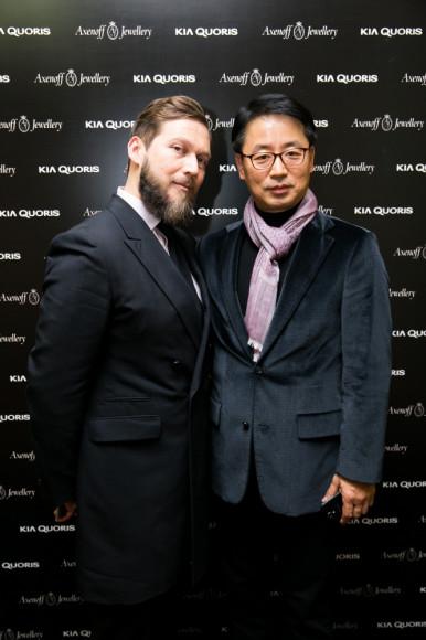 Петр Аксенов и господин Вун Хо, Kia Motors Rus