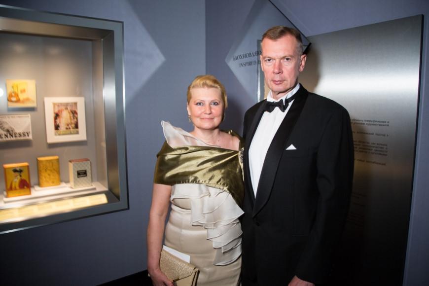 Александр Шульгин (МИД РФ) с супругой
