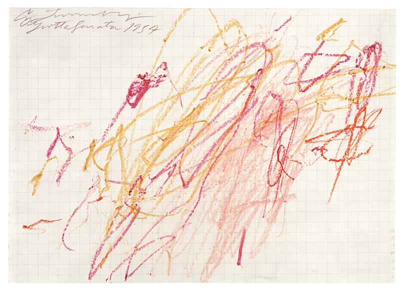 «Sans titre (Grottaferrata)», 1957