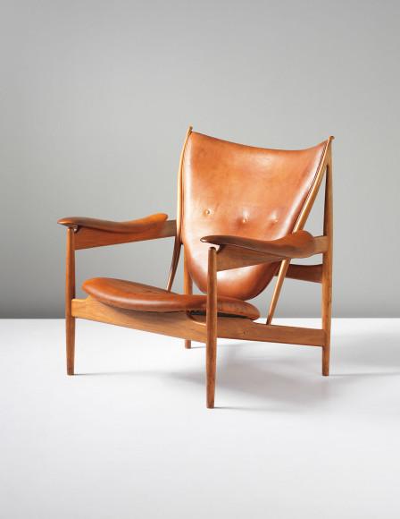 Финн Юль, кресло Chieftain, 1950. Эстимейт £150–250 тыс., продано за £290,500
