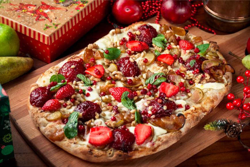 Рождественская пицца