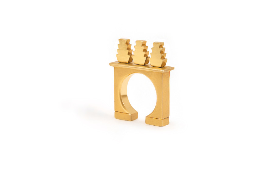 Кольцо Arc,Statements Jewelry