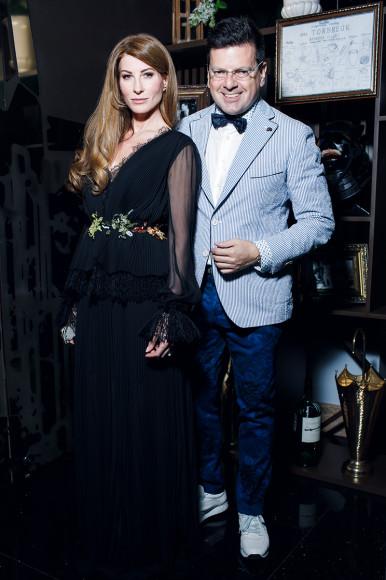 Ольга Цыпкина и Константин Андрикопулос