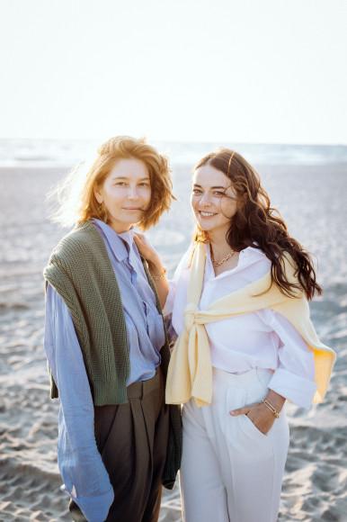 Анастасия Пальчикова и Марина Александрова