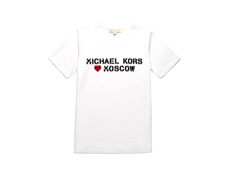 Женская футболка MICHAEL Michael Kors, 6300 руб. (Michael Kors)