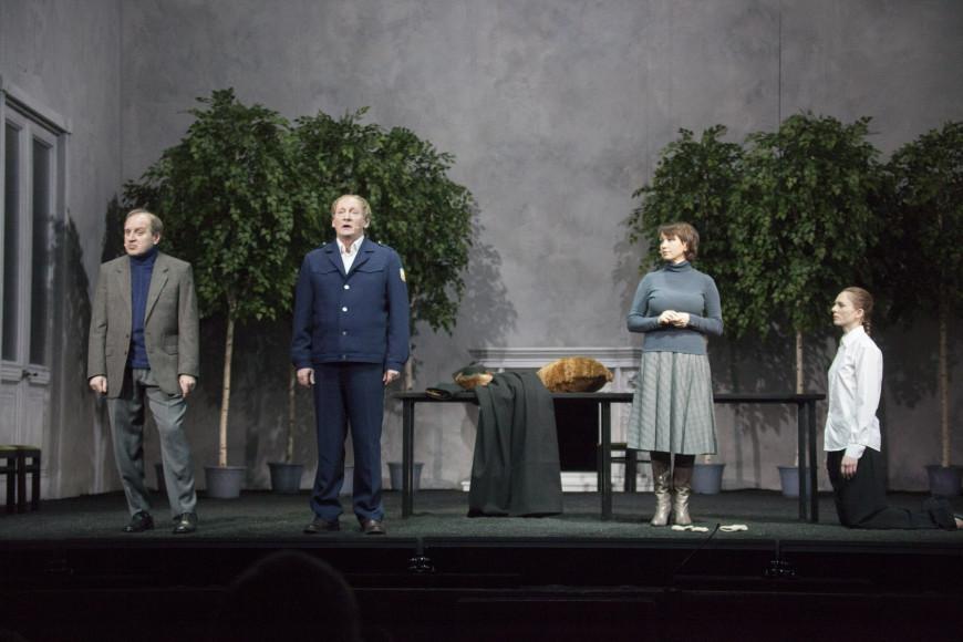 Сцена из спектакля «Князь»